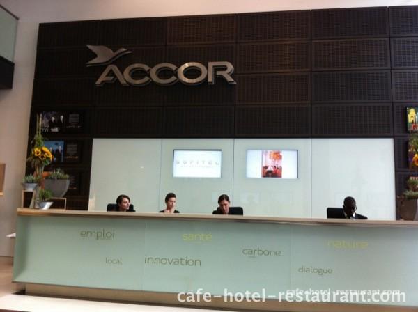 Photo Accueil du siège social du groupe Accor